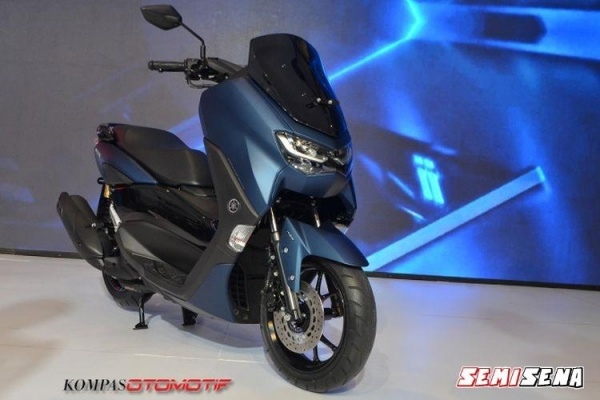 All New NMax Facelift Meluncur Di Thailand